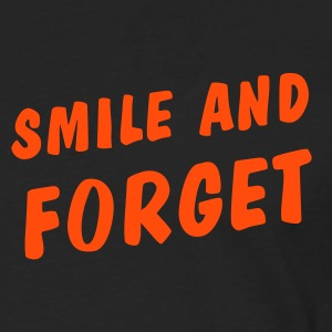 smile and forget Long sleeve shirts - Men's Premium Longsleeve Shirt