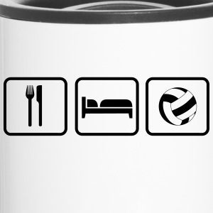 Eat Sleep Volleyball Bouteilles et tasses - Mug thermos