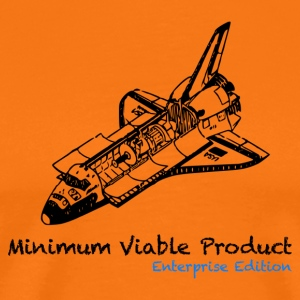 Minimum viable product. Enteprise edition - Männer Premium T-Shirt