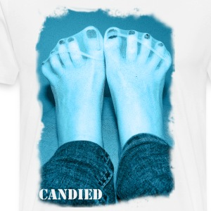 Candied feet - Männer Premium T-Shirt