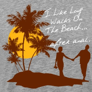 BEACH WALKS AFTER ANAL - Männer Premium T-Shirt