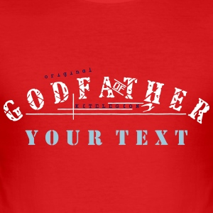 godfather_of_vec_3 nl T-shirts - slim fit T-shirt