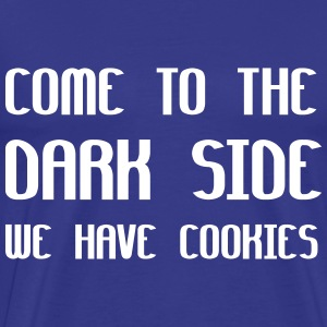 Come To The Dark Side We Have Cookies T-shirts - Premium-T-shirt herr