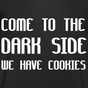 Come To The Dark Side We Have Cookies Magliette - Maglietta da uomo con scollo a V