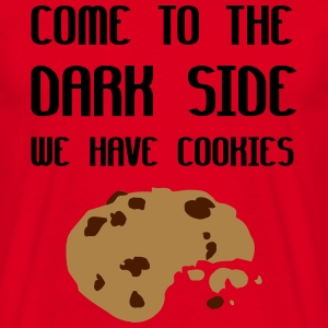 Come To The Dark Side We Have Cookies Koszulki - Koszulka męska