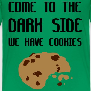 Come To The Dark Side We Have Cookies Camisetas - Camiseta premium niño