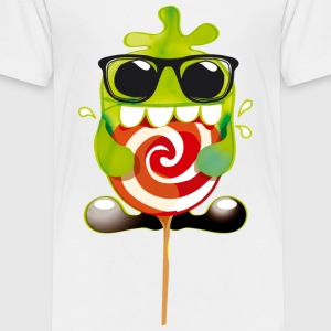 lolli monster - Kinder Premium T-Shirt