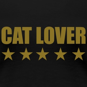 Cat Lover T-skjorter - Premium T-skjorte for kvinner