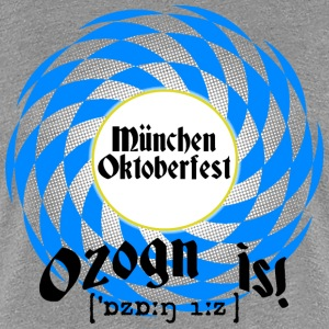 Ozong is - Filled - Frauen Premium T-Shirt
