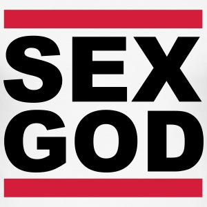 Sex God T-shirts - Herre Slim Fit T-Shirt