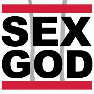 Sex God Sweat-shirts - Sweat-shirt à capuche Premium pour hommes