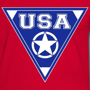 usa star T-Shirts - Men's Ringer Shirt