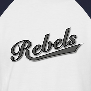 Rebels T-Shirts - Männer Baseball-T-Shirt