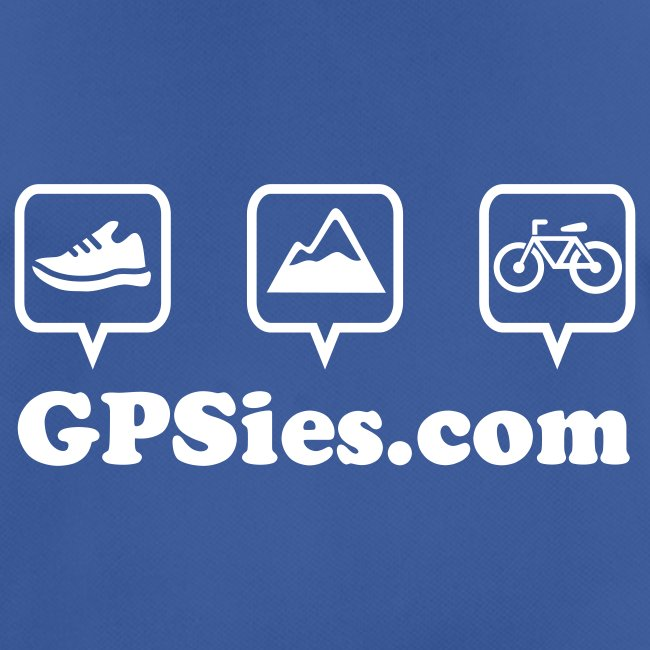 GPSies Shirt Männer bunt