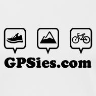 Motiv ~ GPSies Shirt Frauen weiß