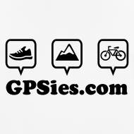 Motiv ~ GPSies Shirt Männer weiß
