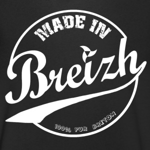 MADE IN BREIZH WHITE Tee shirts - T-shirt Homme col V