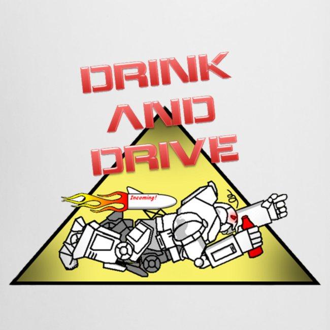 Drink & Drive Krug #4 mit GCGB Logo