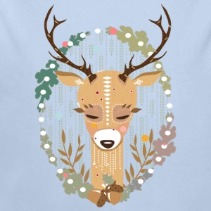 A deer in the forest  Hoodies - Longlseeve Baby Bodysuit