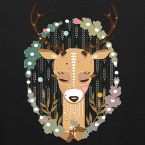 A deer in the forest  Tank Tops - Men's Premium Tank Top