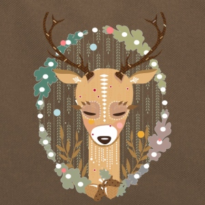 A deer in the forest  Bags & Backpacks - Retro Bag