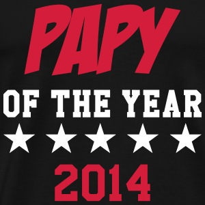 Papy of the year 2014 Tee shirts - T-shirt Premium Homme