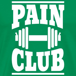 Pain - Club T-shirts - Herre premium T-shirt
