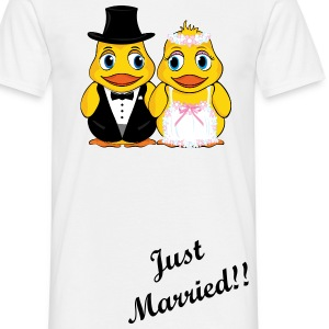 Just married - Männer T-Shirt