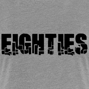 Eighties T-Shirts - Frauen Premium T-Shirt