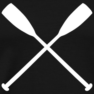 Sup Paddle Crossing T-Shirts - Männer Premium T-Shirt