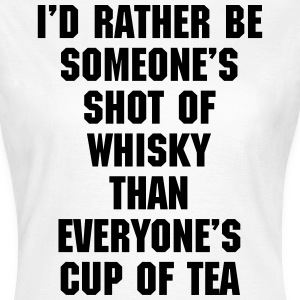 Shot Of Whisky  Tee shirts - T-shirt Femme