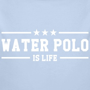 Water Polo is life Sudaderas - Body orgánico de manga larga para bebé