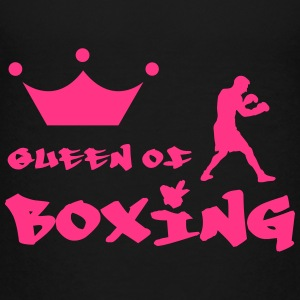 Queen of Boxing Shirts - Teenage Premium T-Shirt