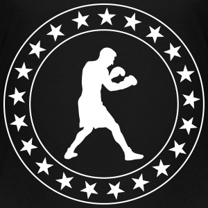 boxning boxare ali boxing fight fighter sport T-shirts - Premium-T-shirt barn