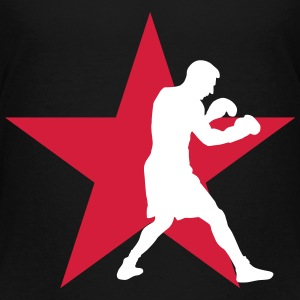 boksning bokser ali boxing fight fighter sport T-shirts - Teenager premium T-shirt
