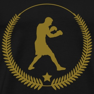 bokser ali boxing fight fighter sport T-shirts - Mannen Premium T-shirt