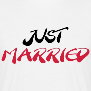 Just married Camisetas - Camiseta hombre