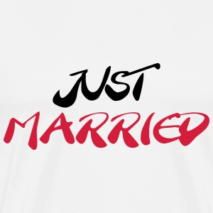 Just married T-Shirts - Men's Premium T-Shirt