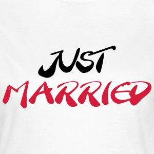 Just married T-shirts - Dame-T-shirt