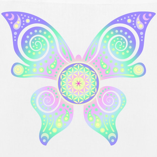 Flower Of Life - Butterfly
