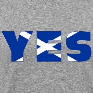 Scotland says YES T-Shirts - Men's Premium T-Shirt