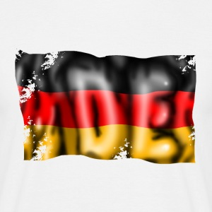 Germany flag T-shirts - T-shirt herr