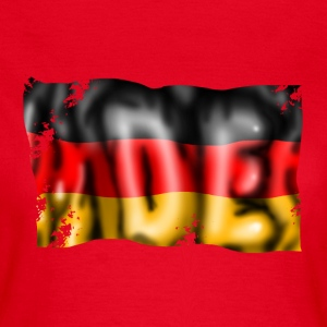 Germany flag T-shirts - Dame-T-shirt
