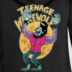 Black teenage werewolf Hoodies & Sweatshirts - Women's Premium Hooded Jacket