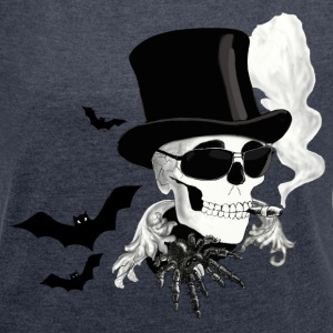 Halloween T-Shirts - Women's T-shirt with rolled up sleeves