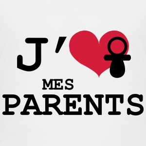 J'aime mes Parents Tee shirts - T-shirt Premium Enfant