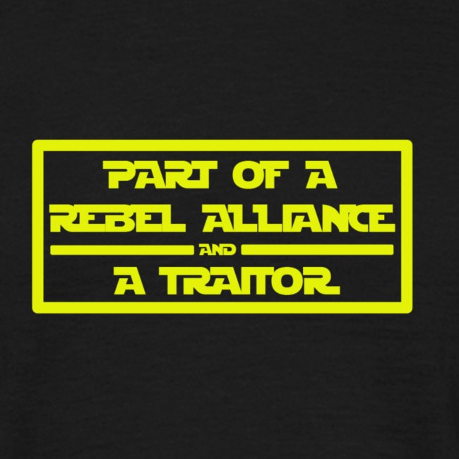 Part of a Rebel Alliance
