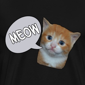 meow2.png  - Men's Premium T-Shirt
