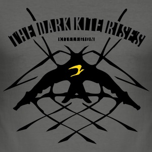the_dark_kite_rises_vec_2 en T-Shirts - Men's Slim Fit T-Shirt