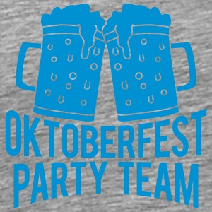 Oktoberfest Party Team T-skjorter - Premium T-skjorte for menn